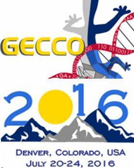 -closed- Papers due to January, 27, 2016, GECCO Denver (Colorado, US) July, 20-24, 2016
