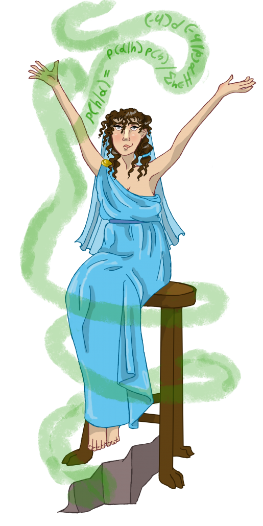 Explainable-AI Pythia - the high prestress of the temple of Apollo at Delphi