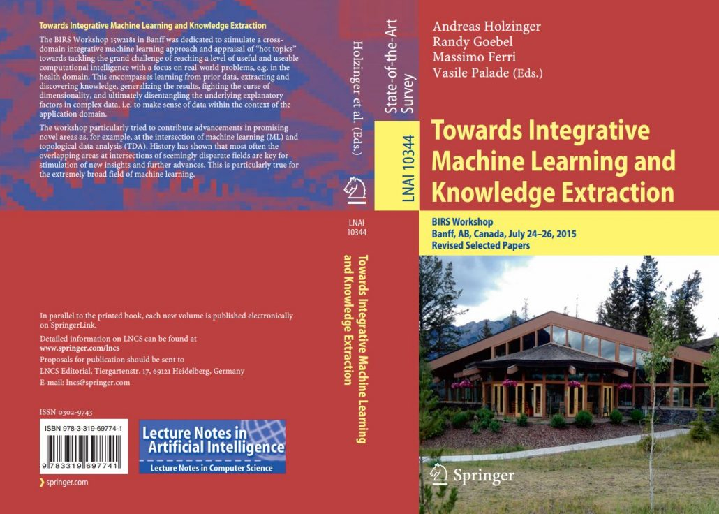 LNAI Hot Topics in integrative Machine Learning & Knowledge